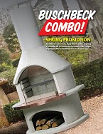 Buschbeck Rondo Combo Outdoor Fireplace