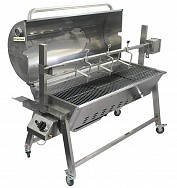 DUAL FUEL SPIT ROASTER