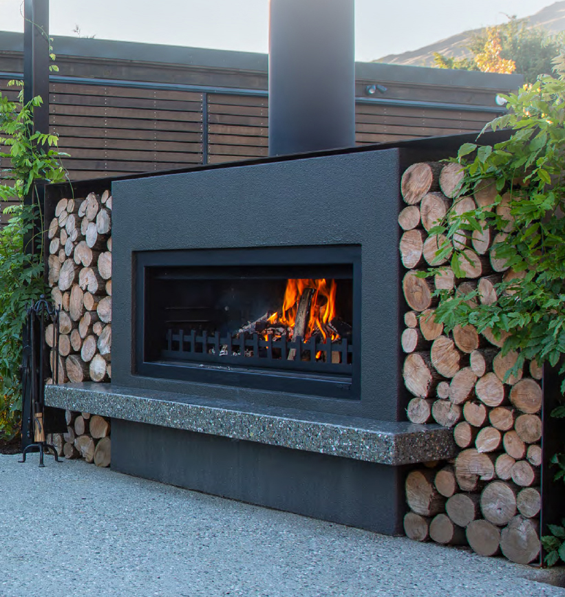 Trendz Outdoor Fireplaces Outdoor Fireplaces Pizza Ovens Perfect For Entertaining All Year Round