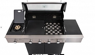 Specialist Deluxe 4 Burner Gas Grill