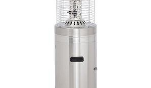 Gasmate Area Heater - Stainless Steel
