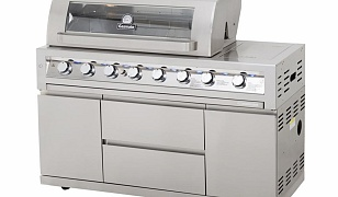 Gasmate Platinum Galaxy 6 Burner Gas Grill