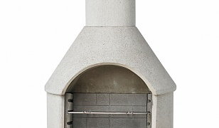 Buschbeck Rondo Outdoor BBQ Fireplace