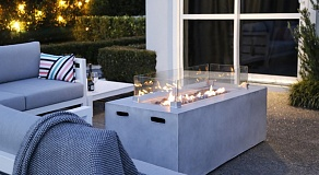 Rectangular Gas Fire Table (460H)