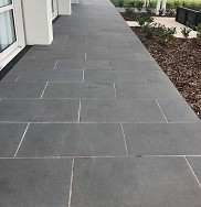 Bluestone Paving. Rubbed and Flamed