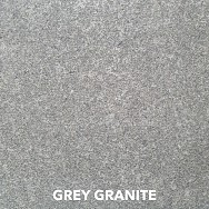 Charcoal Granite Flamed Tile and Coping