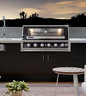 Galaxy 6 Burner Stainless Steel Built-in Gas Grill
