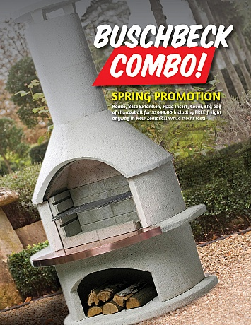 Rondo Buschbeck Combo Outdoor Fireplace